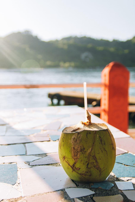 FilipinoStreetFood Coconut Buko