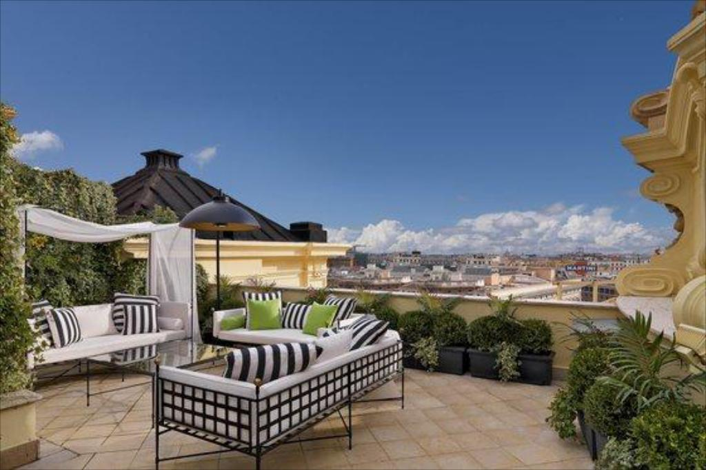 CC Travel Hub - The Westin Excelsior, Rome (balcony/terrace)