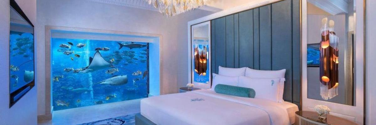 C&C Travel Hub - 3 of the Best Hotels with Underwater Rooms
